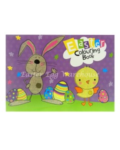 easter colouring book