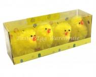 4pk Yellow Chicks