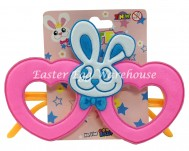 Easter Bunny Heart Glasses