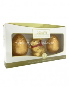 lindt milk eggs and bunny 130g