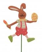 Bunny on stick