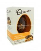 chocolatier honeycomb & belgian wafer egg