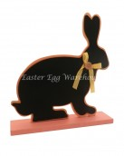 bunny chalkboard stand