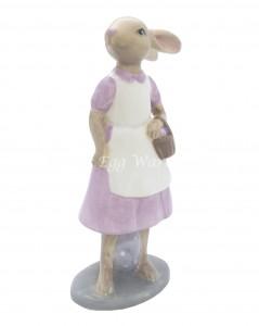 pink bunny ornament