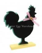rooster chalkboard stand