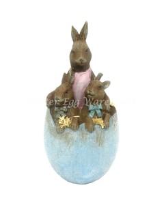 egg bunny ornament
