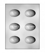 6 egg moulds