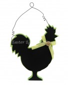 rooster hanging chalkboard