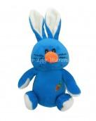 blue soft bunny