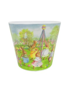 easter bunny pot