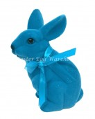Blue Easter Bunny Decoration