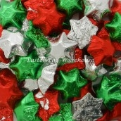 bulk chocolate christmas stars