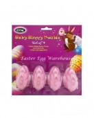 baby bunnies mould 4 pink