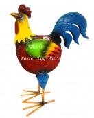 colourful rooster statue