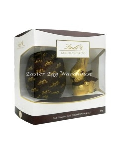 lindt dark chocolate bunny and egg