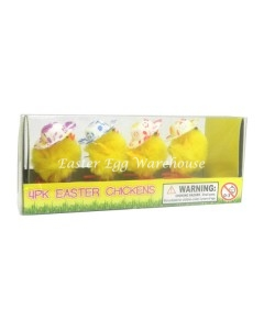 4pk easter chickens