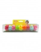 9pk coloured easter chicken
