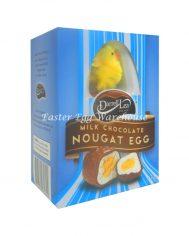 darrell lea milk choc nougat egg blue