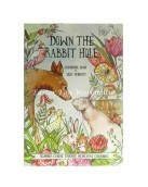 down the rabbit hole colouring book