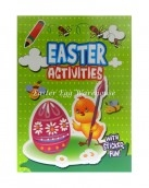easter activities with stickers green