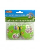 easter cupcake cases50pc green eggs