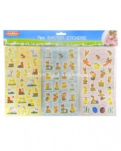easter extravaganza stickers 71pc
