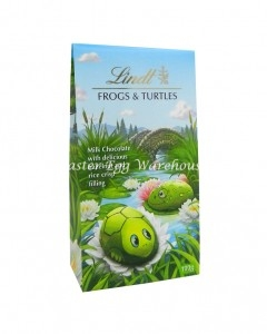 lindt frogs and turtles 100g