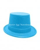 easter-plastic-glitter-top-hat-blue