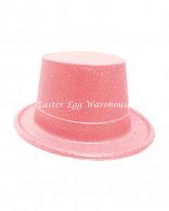 easter-plastic-glitter-top-hat-pink