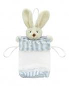 Bunny lolly bag blu