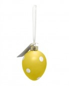polkadot-easter-egg-decorative-ornament-yellow