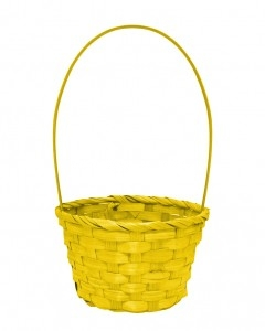 tall-handle-round-easter-basket-yellow